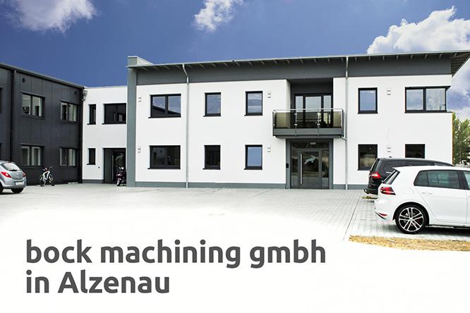 Bock machining